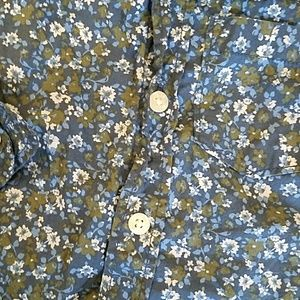 GAP Shirts & Tops - Baby Gap 2 years Floral Button Down